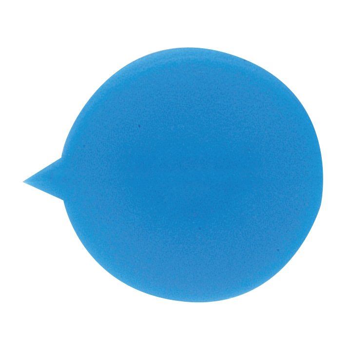 Security Seals Plain Round Blue Pack 500