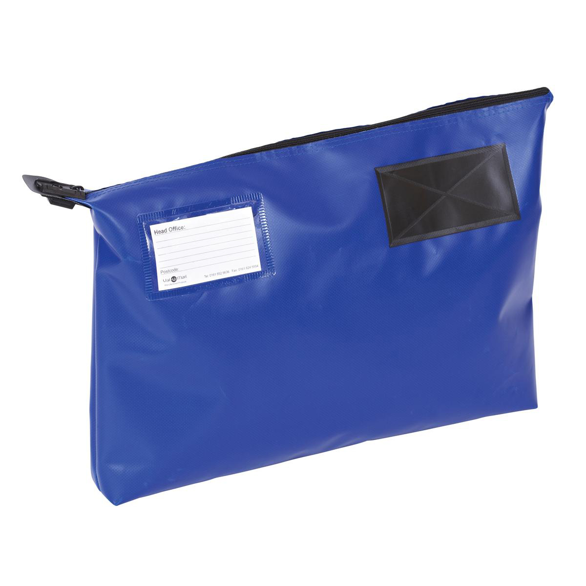 A3 Gusset Mail Pouch 470x336x76mm Blue