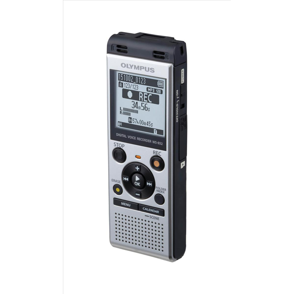 Digital voice recorders Olympus Digital Dictation Machine WS852 4GB Ref V415121SE000
