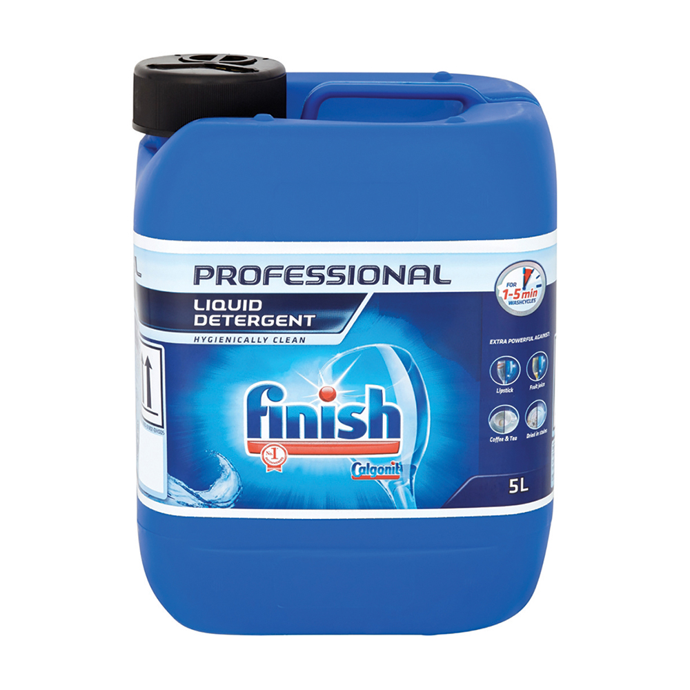 Finish Professional Liquid Detergent 5 Litre Ref RB535561 [Price Offer] Jul-Sep 2019