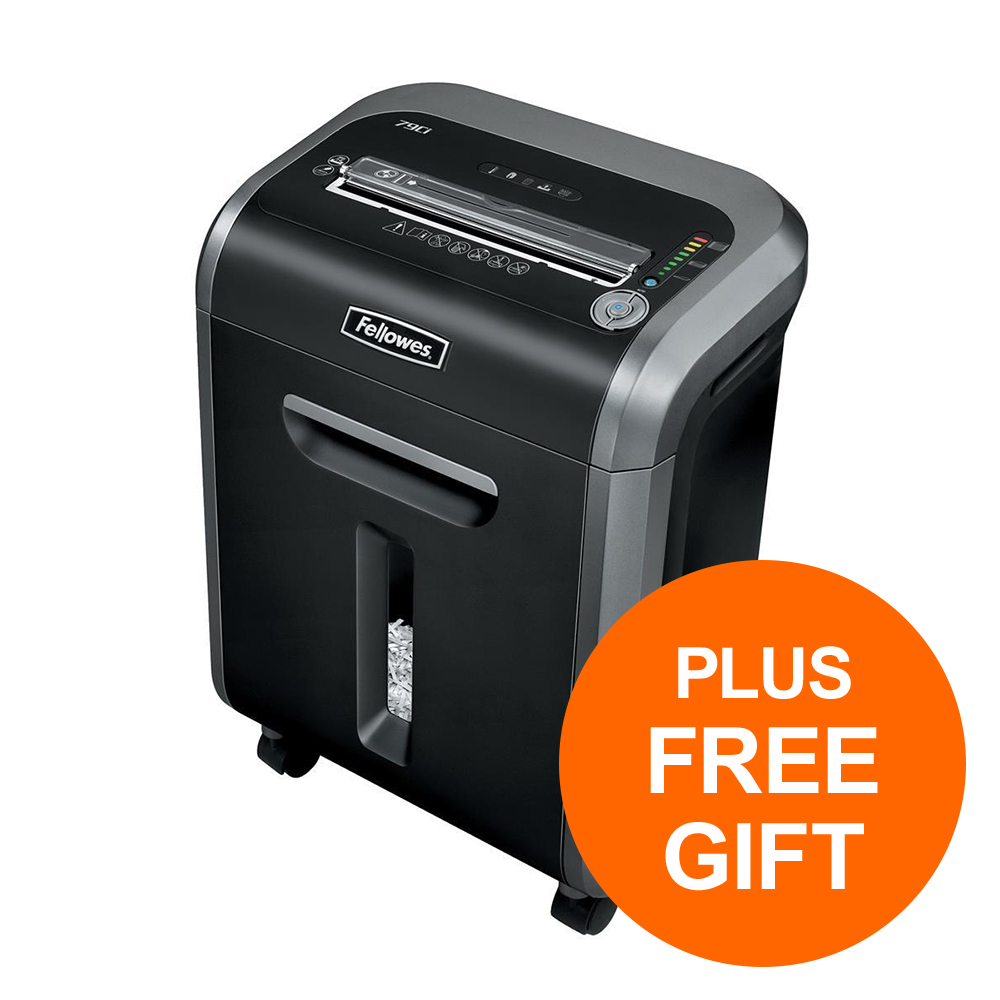 Fellowes 79Ci Cross Cut Shredder Ref 4679101 [FREE Shredder Oil and Shredder Bags] Jul-Sep 2019