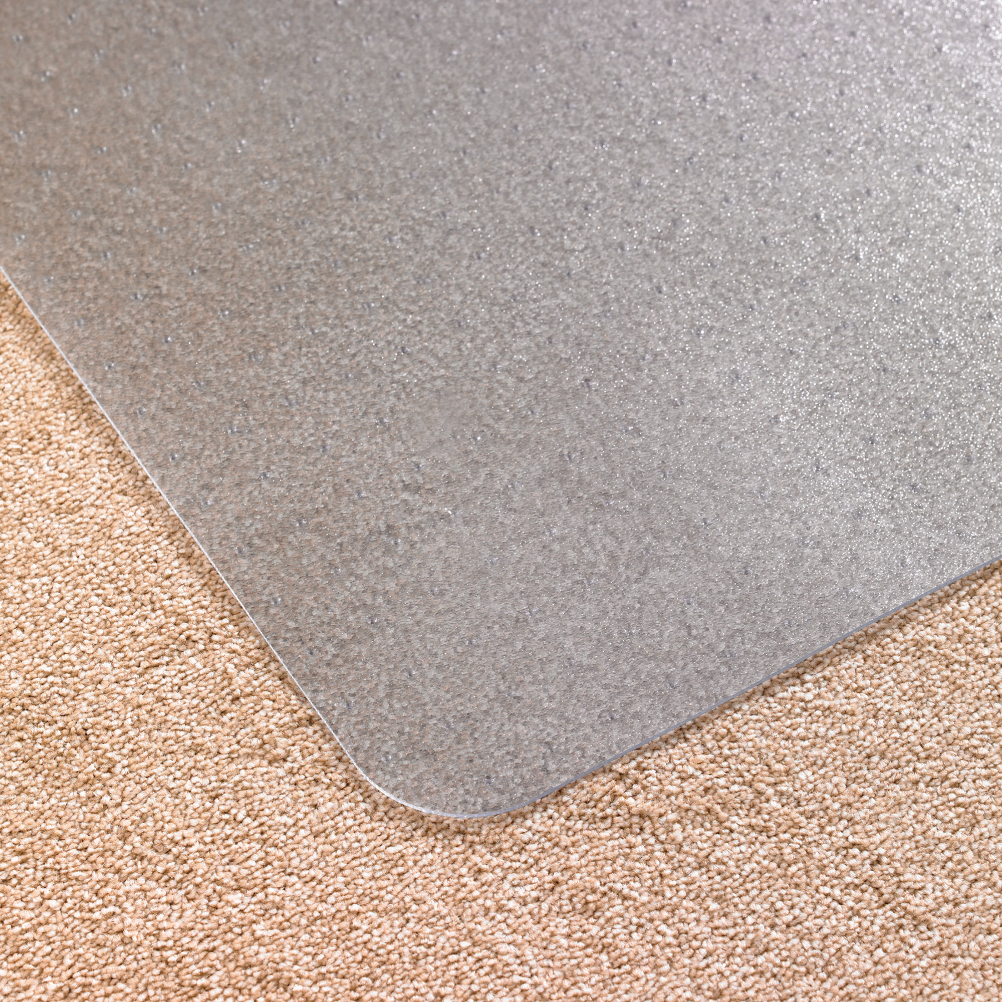 Chair mat Cleartex Advantagemat Chair Mat For Carpets Rectangular 900x1200mm Clear Ref FCPF119225EV