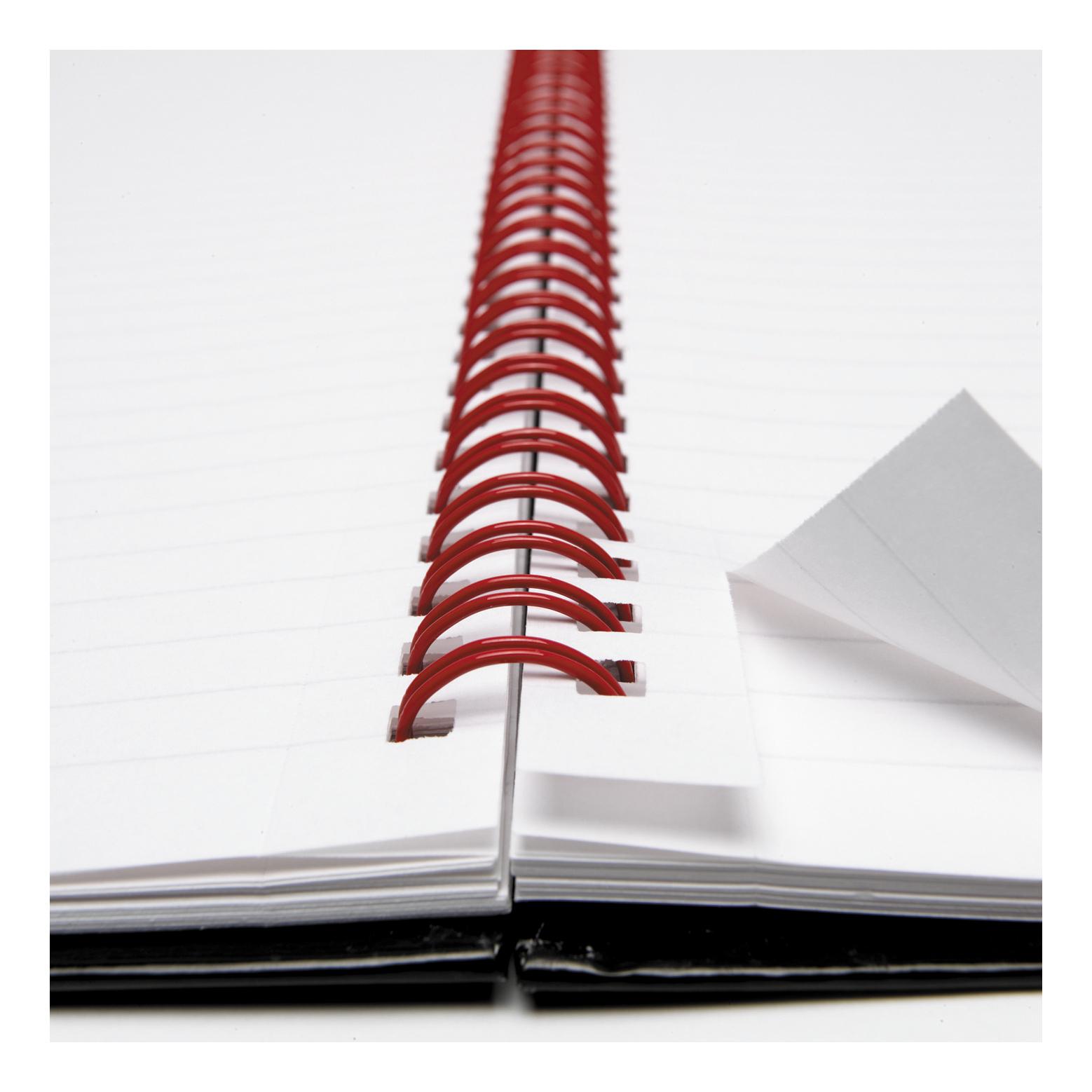 Black N Red Nbk Wbnd Perfd A4 Ref 100102248 Pk 5 [Buy 2 & Free Pk 12 BIC Pro Ball Pen 4 Cols] Jan-Mar 20