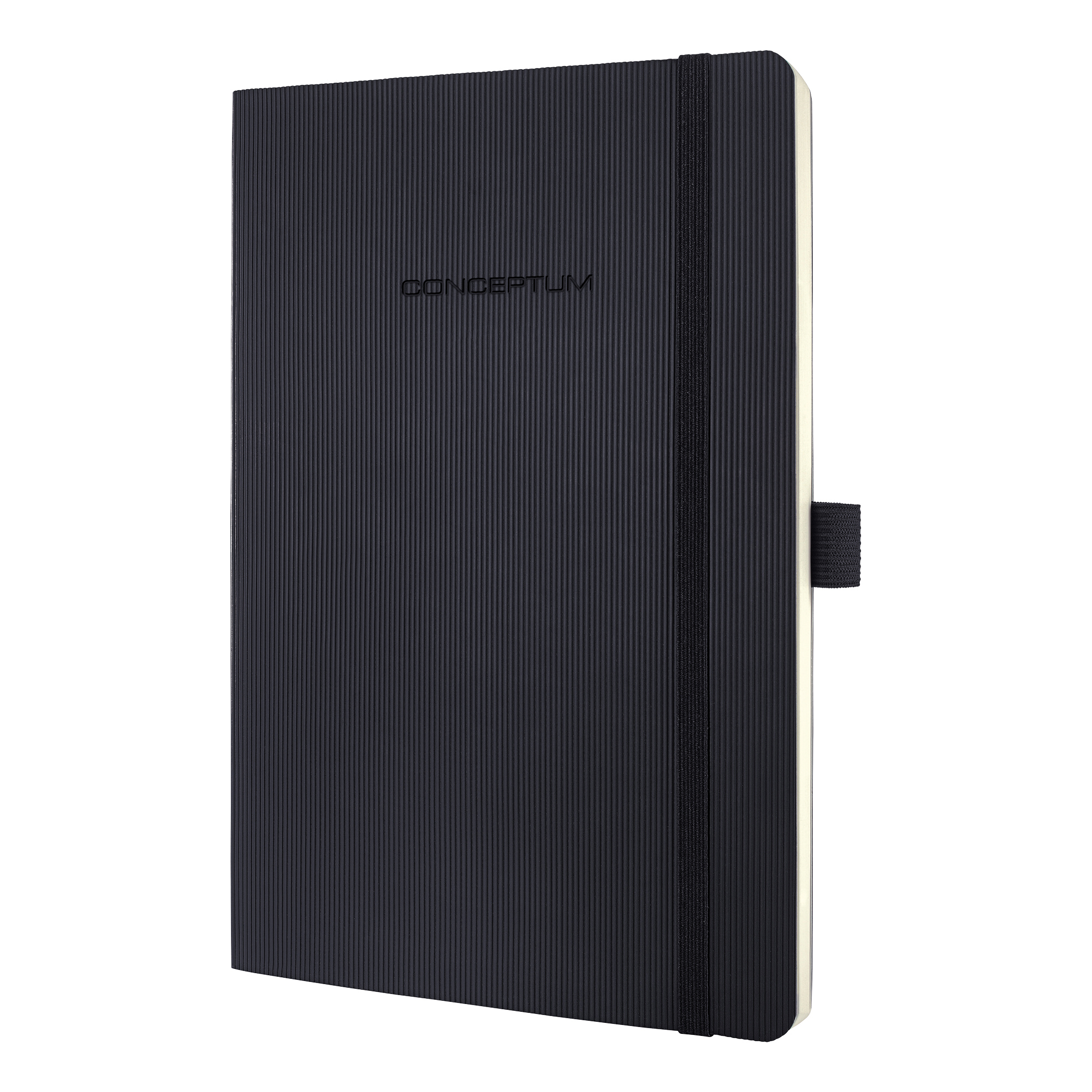 Sigel PEFC Concept Softcover Notebook A5 Black Ref CO321 [2 for 1] Jan-Mar 20