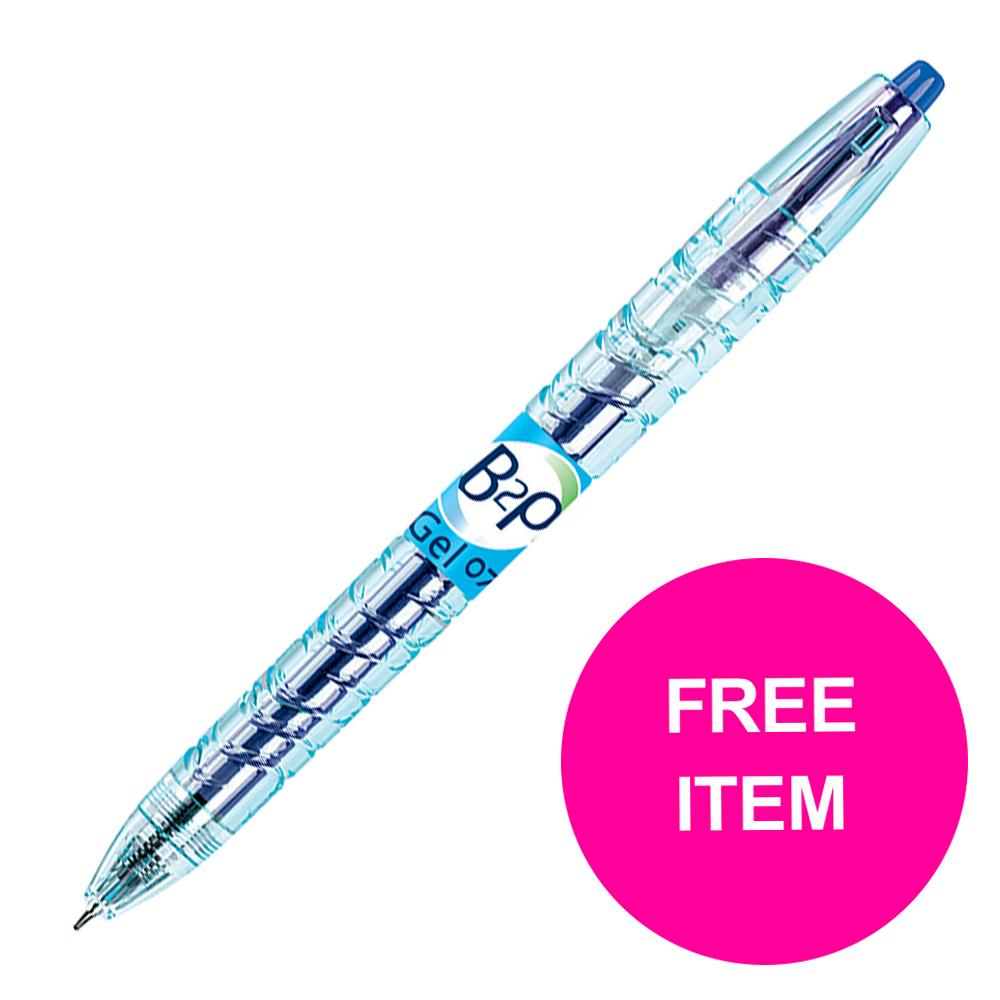 Pilot B2P Gel Rollerball 0.7mm Blue Ref 4902505377464 [Pack 10] [FREE Refills] Jan-Mar 2020