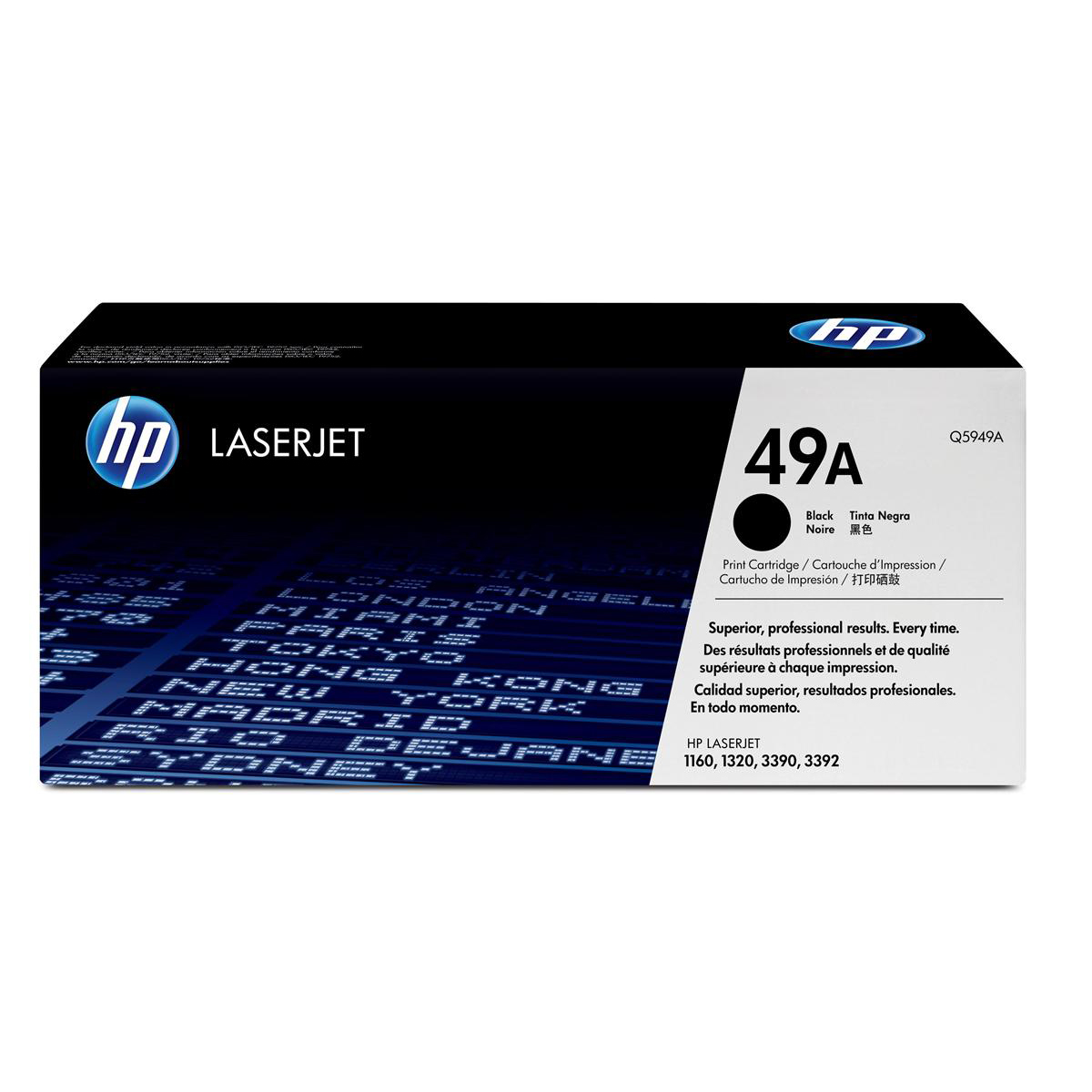 HP 49A Laser Toner Cartridge Page Life 2500pp Black Ref Q5949A