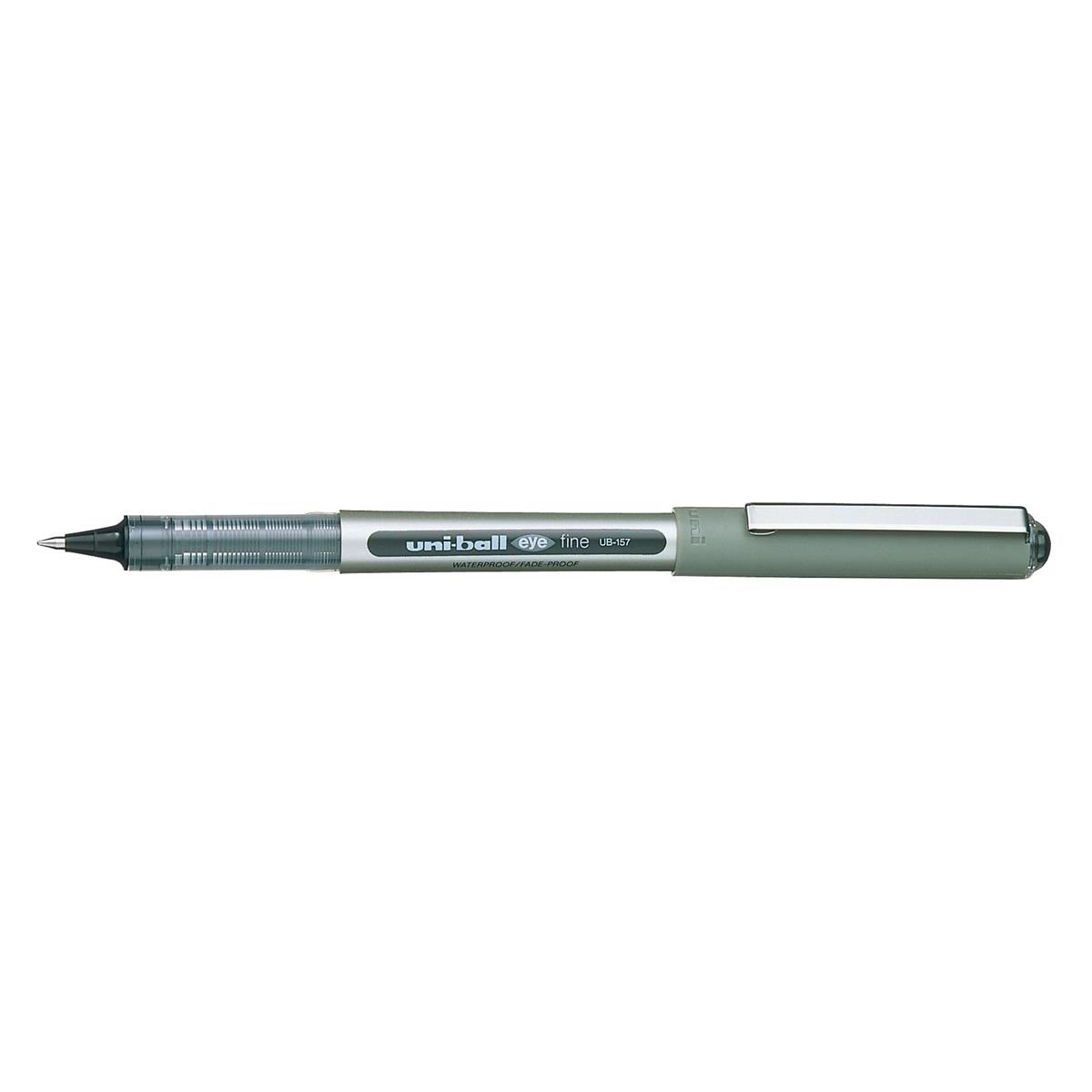 Uni-ball Eye UB157 Rollerball Black Med Tip Pk12