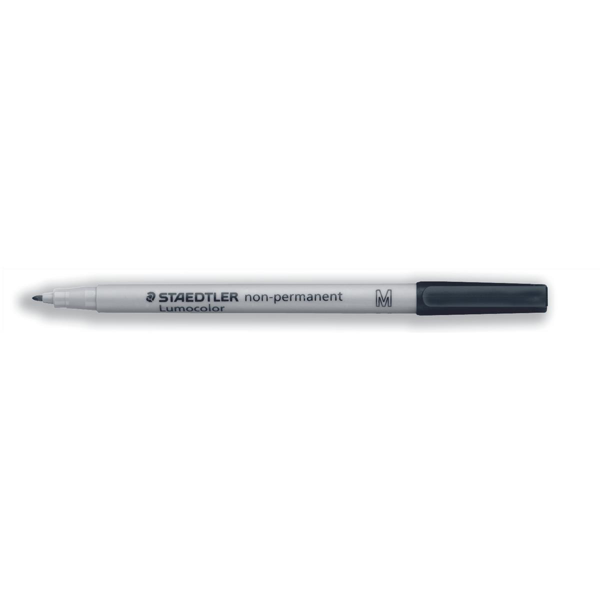 Staedtler 315 Lumocolor Pen Non-permanent Medium 1.0mm Line Black Ref 315-9 Pack 10