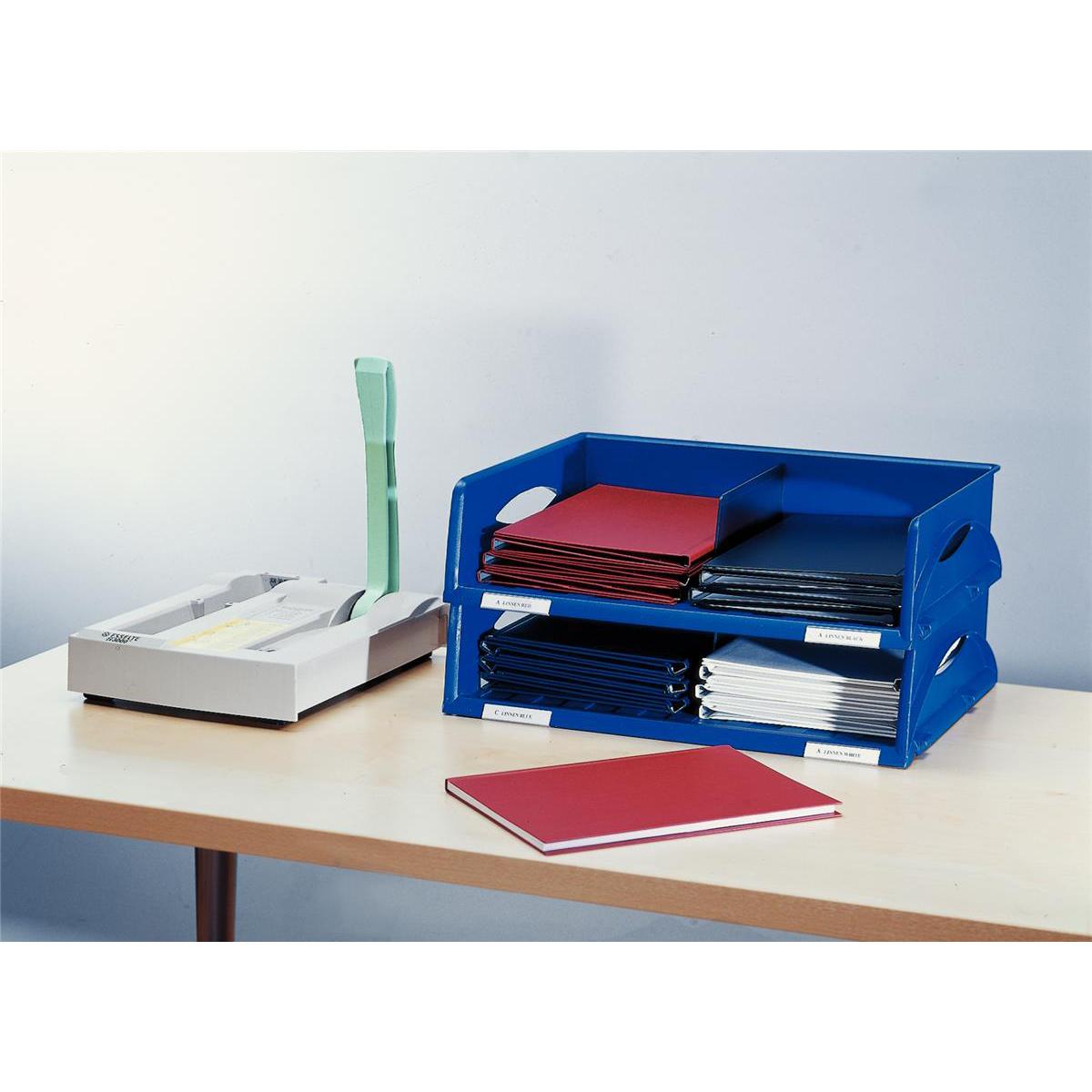 Leitz Jumbo Letter Tray Blue Ref 5232-00-35
