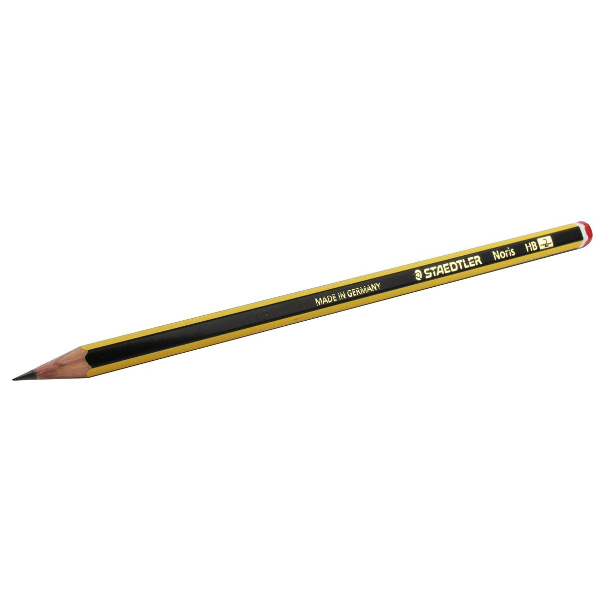 Pencils (Wood Case) Staedtler 120 Noris Pencil PEFC HB Red Cap Ref 120-2 Pack 12