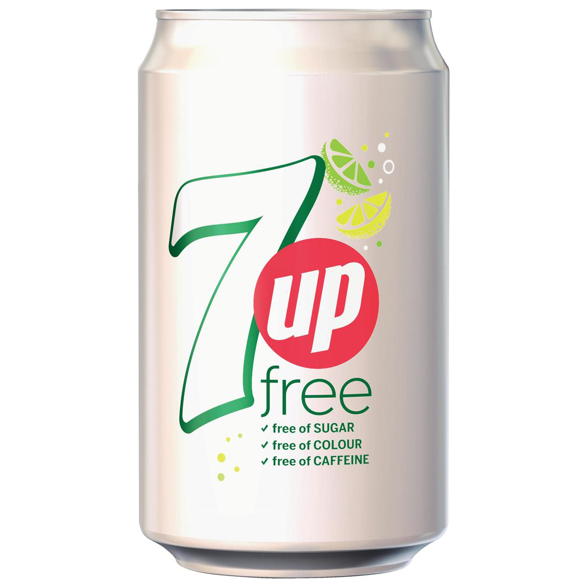 Cold Drinks 7UP Free Lemon and Lime Soft Drink Can 330ml Ref 203389 Pack 24
