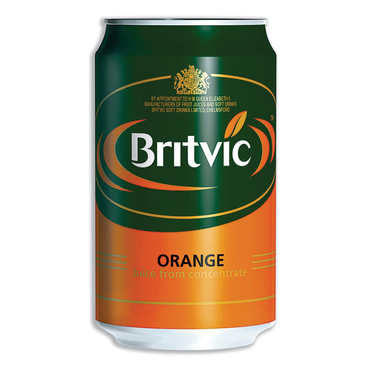 Britvic Orange Juice From Concentrate Can 330ml Ref 202965 Pack 24