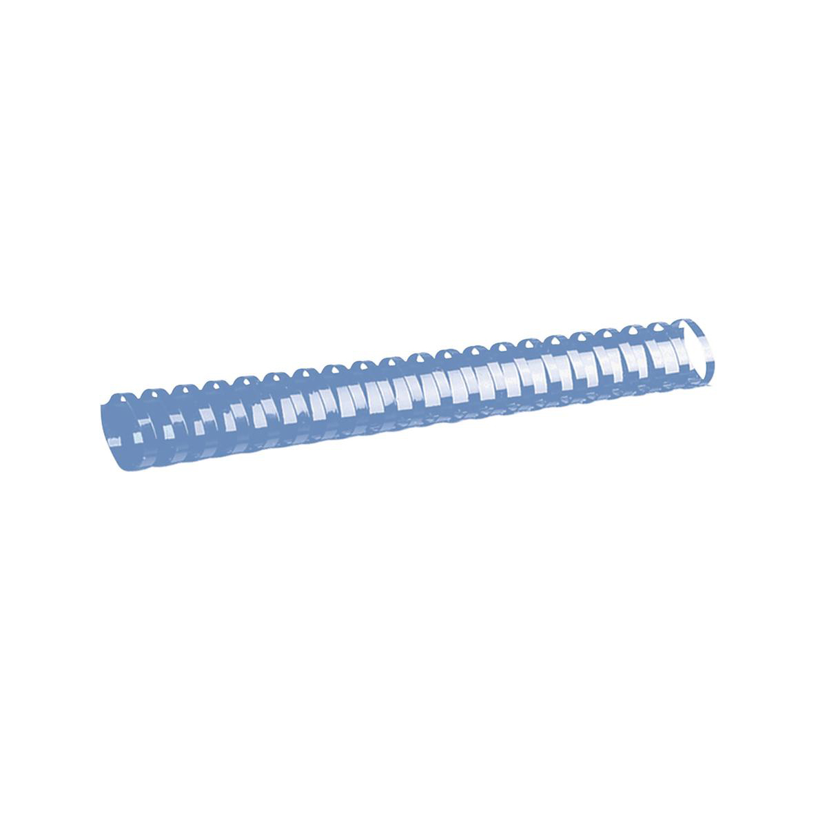 GBC Binding Combs Plastic 21 Ring 125 Sheets A4 14mm Blue Ref 4028238 Pack 100