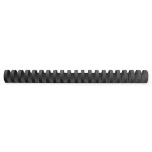 GBC Binding Combs Plastic 21 Ring 240 Sheets A4 28mm Black Ref 4028183 Pack 50