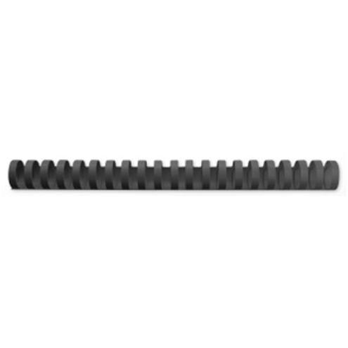 GBC Binding Combs Plastic 21 Ring 240 Sheets A4 28mm Black Ref 4028183 [Pack 50]