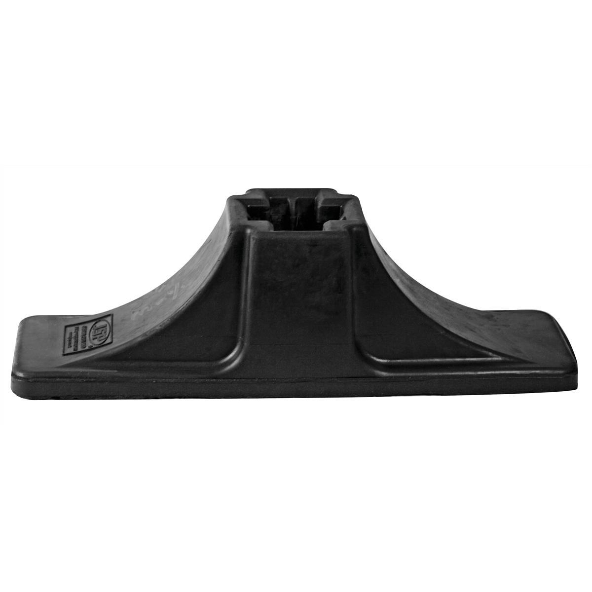 Workgate Base for Gate Barrier Black Ref KEV000-001-100