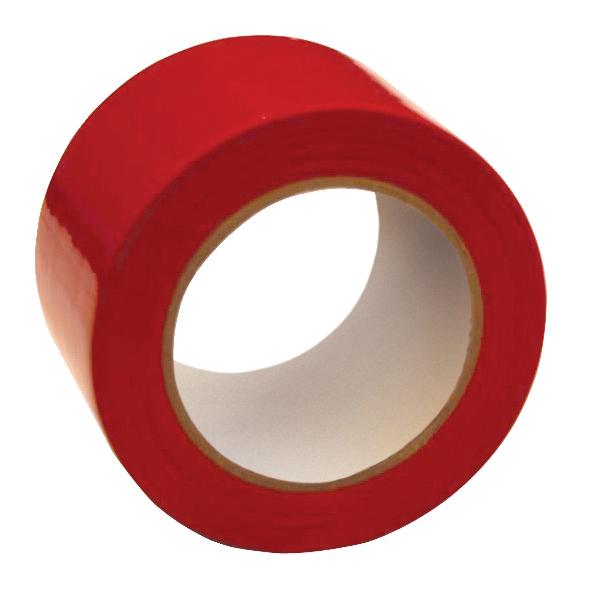 Floor Marking Tape Heavy Duty Red 75mmx33m