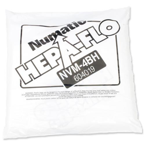 Numatic Replacement Vacuum HepaFlo Dust Bags for 900 & 750 & 570 Ref 604019 Pack 10