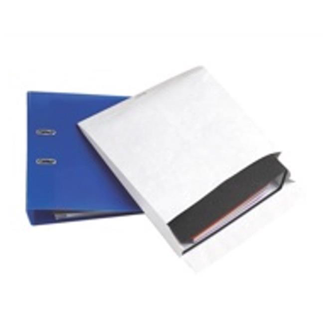 Tyvek Mailing Envelopes for Storing Lever Arch Files H318xW326xD68mm 68gsm P&S White Ref 67158 Pack 50