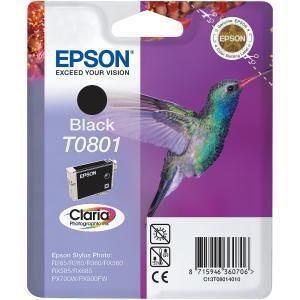Epson T0801 IJ Cart PhBlack C13T08014011