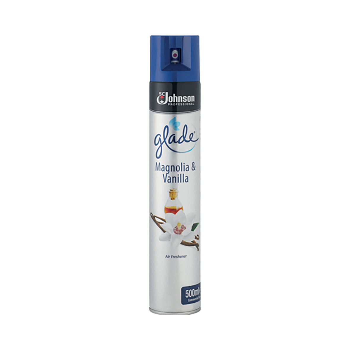 Image for Glade Air Freshener Aerosol Spray Can Vanilla & Magnolia 500ml Ref 71225