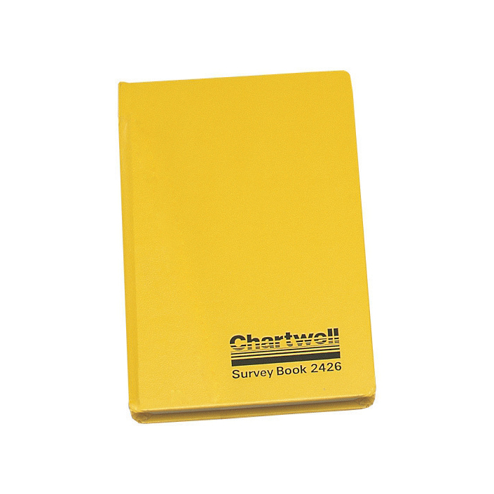Survey Chartwell Survey Book Level Collimation Weather Resistant Side Opening 80 Leaf 192x120mm Ref 2426Z