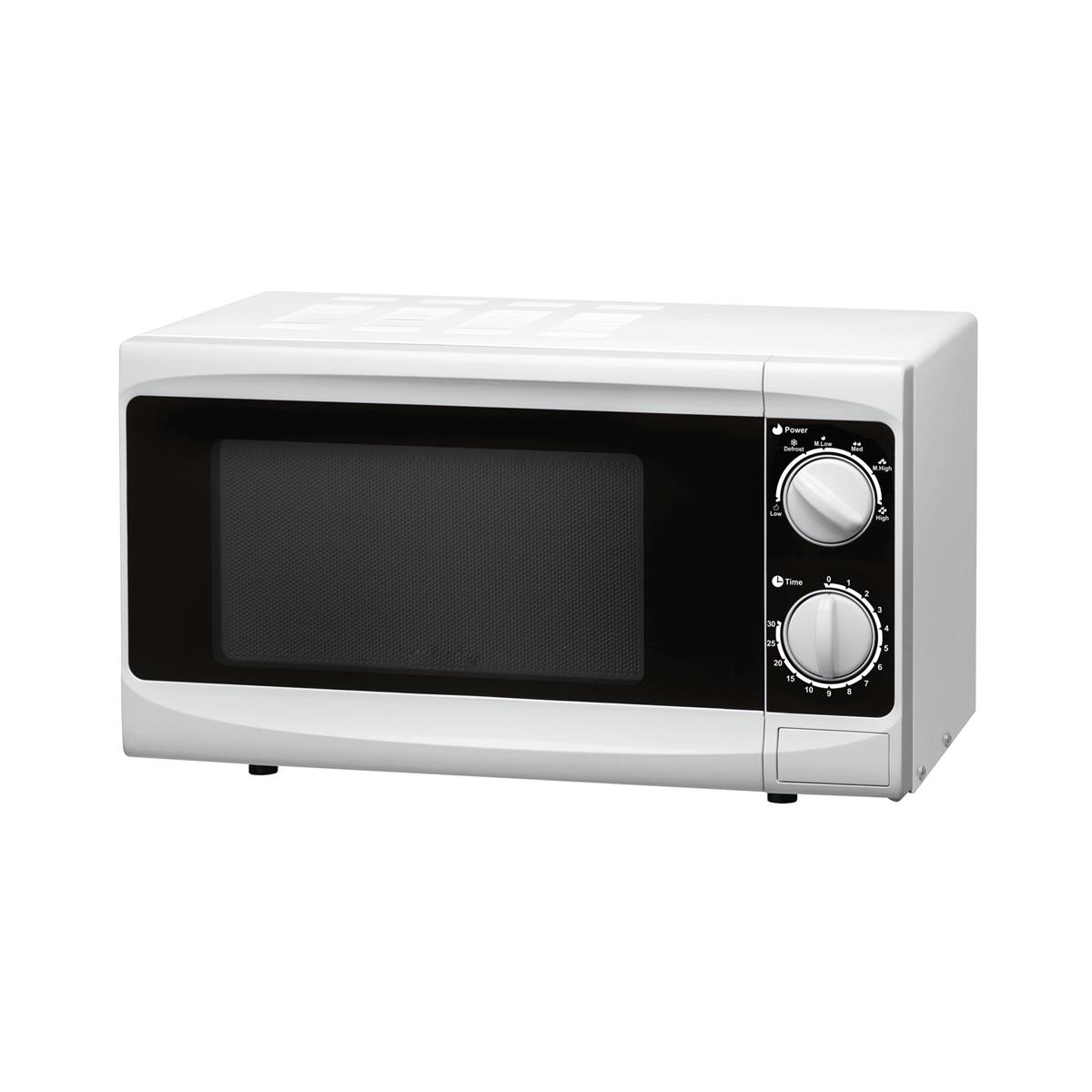 Kitchen Appliances 5 Star Facilities Manual Microwave Defrost and 5 Power Levels 800W 20 Litre White