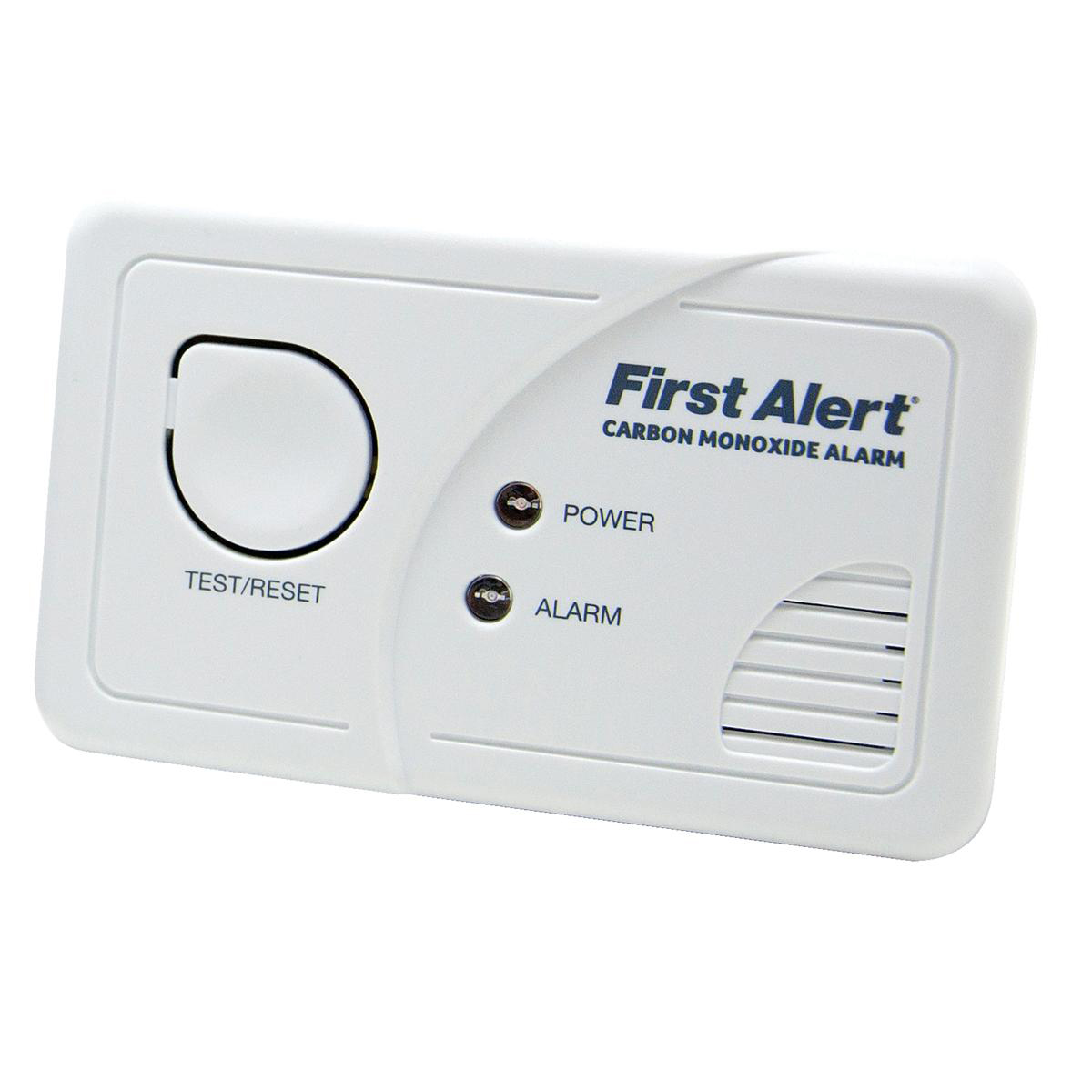 Image for First Alert Carbon Monoxide Detector Alarm LED and Fittings 85dB Ref FT0409