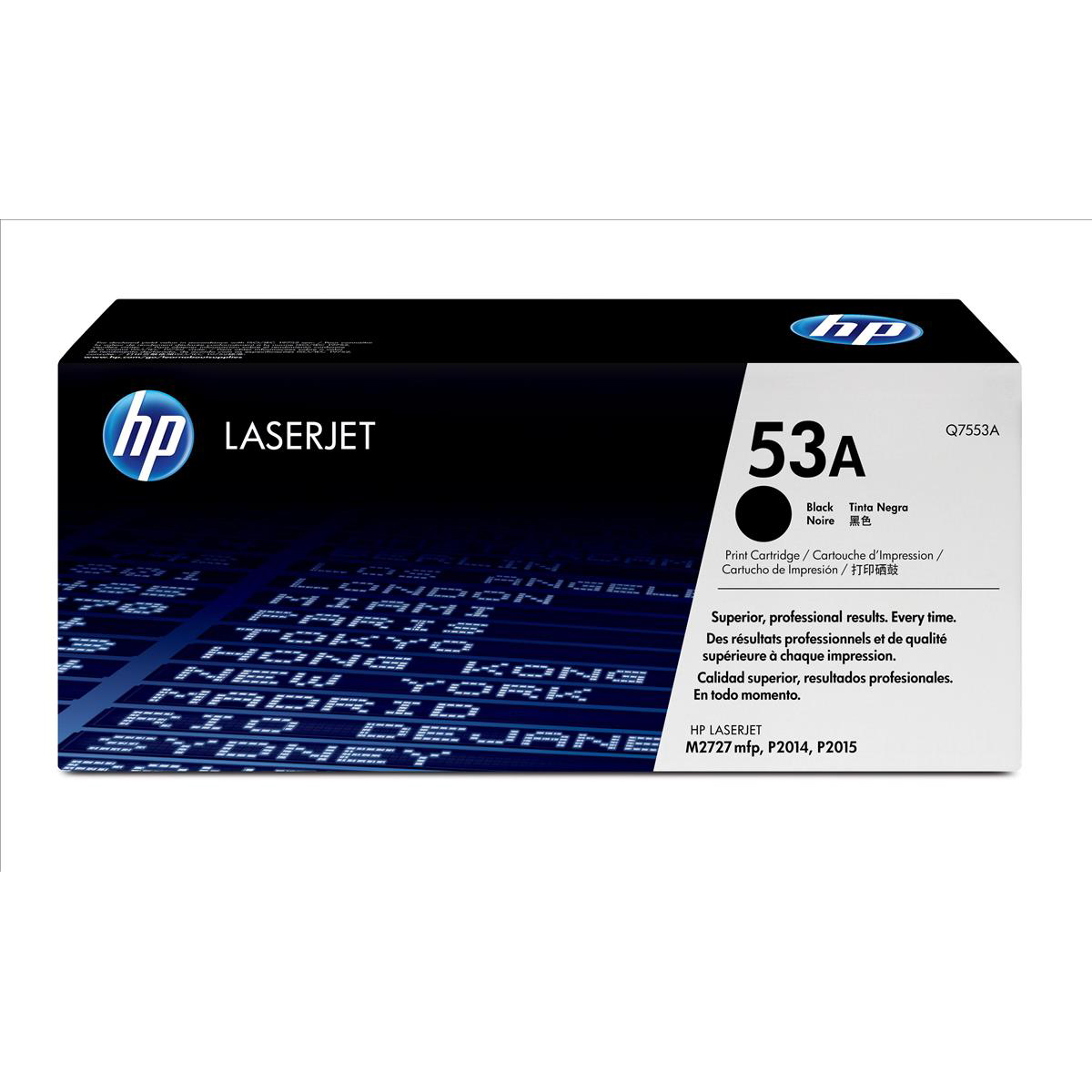 HP 53A Laser Toner Cartridge Page Life 3000pp Black Ref Q7553A