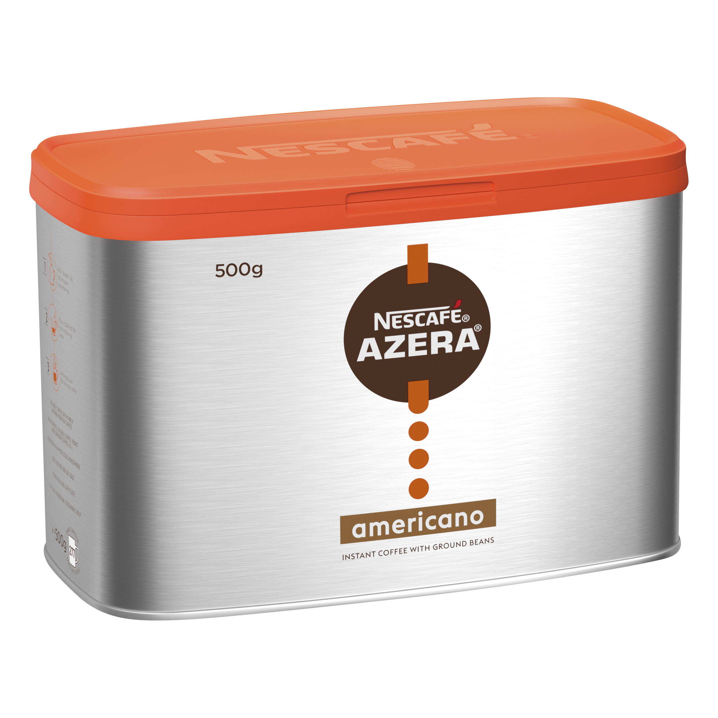 Coffee Nescafe Azera Instant Coffee Americano 500g Ref 12284221
