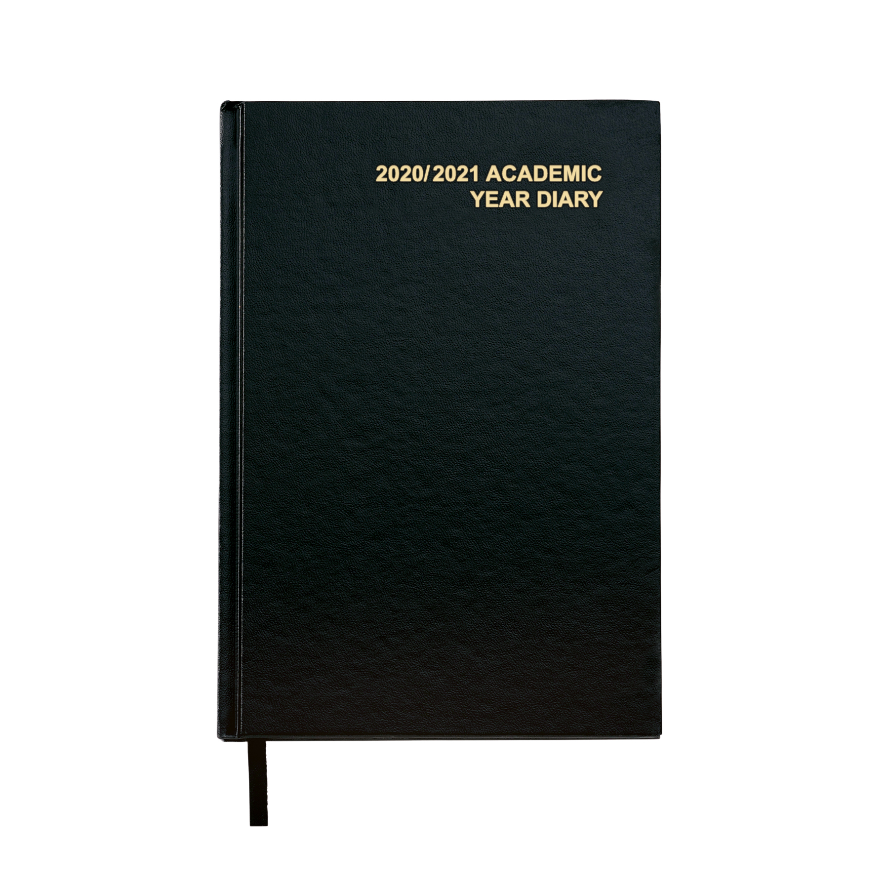 5 Star Office 2020/21 Academic Diary August-August Day-to-Page A5 Black