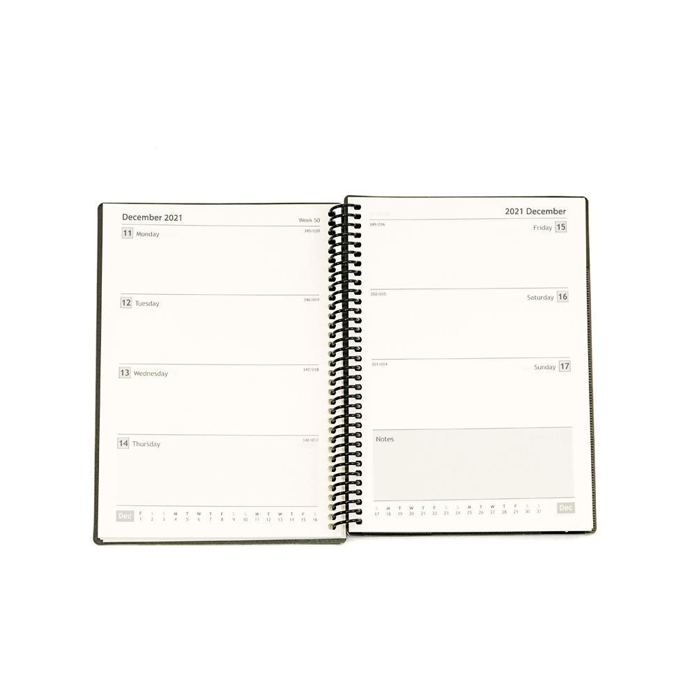 Diaries Collins 2020/21 Academic Diary Week-to-View A5 Blue Ref FP53M.60-2021