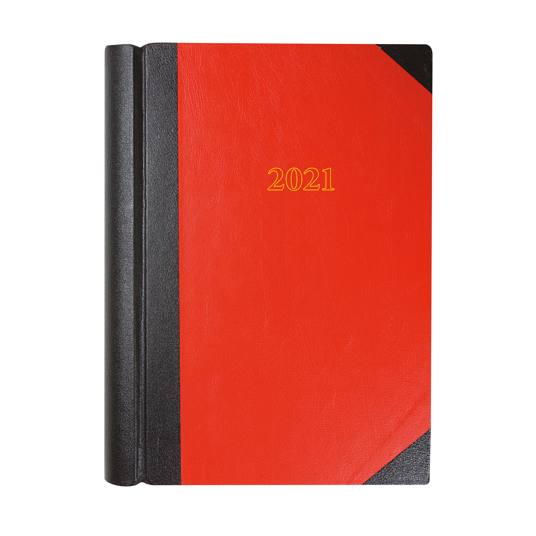 Diaries Collins 2021 Desk Diary 2 Pages to a Day Sewn Binding A4 297x210mm Red Ref 42 Red 2021