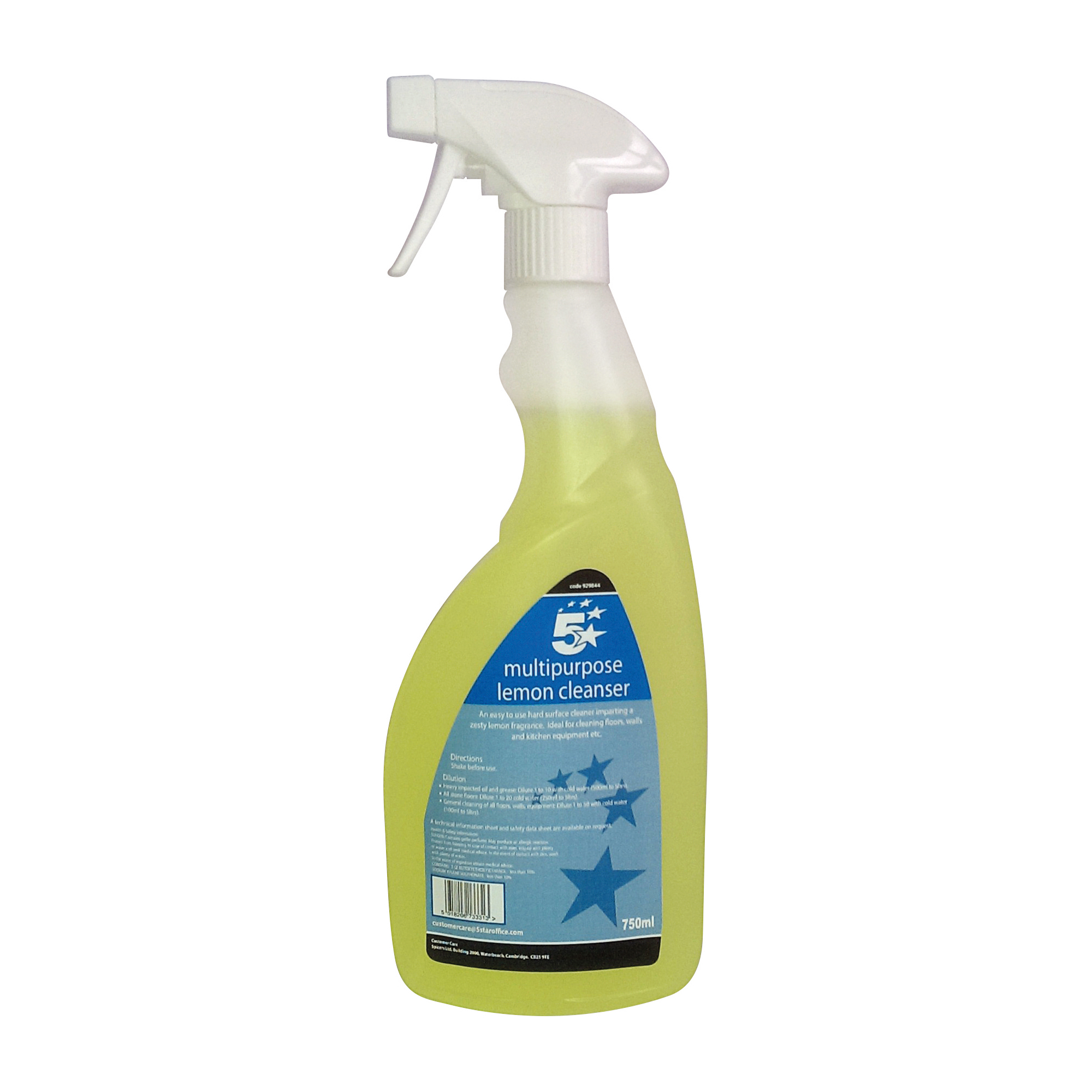 Cleaning Chemicals 5 Star Facilities Ready-to-use Multi-purpose Cleaner 750ml