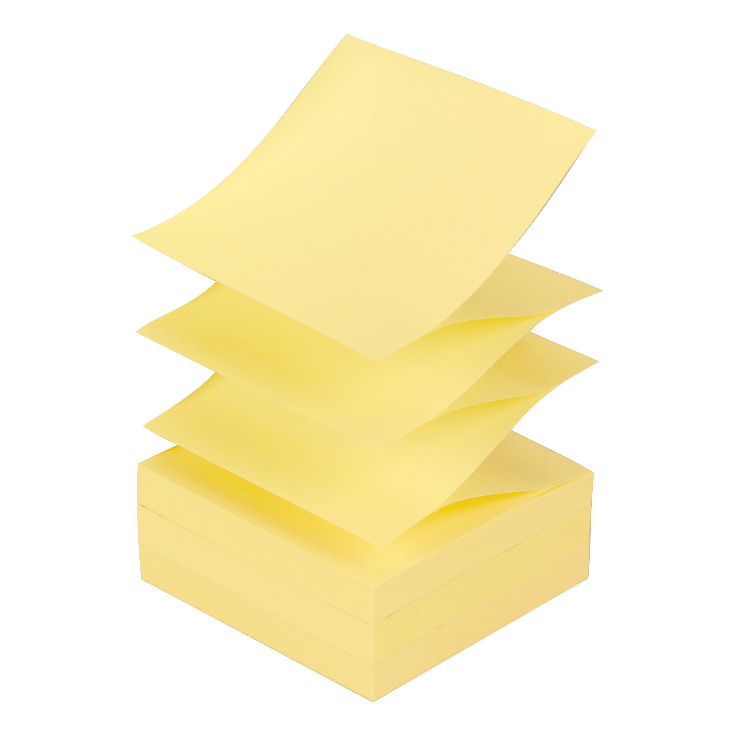 Post-it Z Notes 76x 76mm Canary Yellow Ref R330 Pack 12