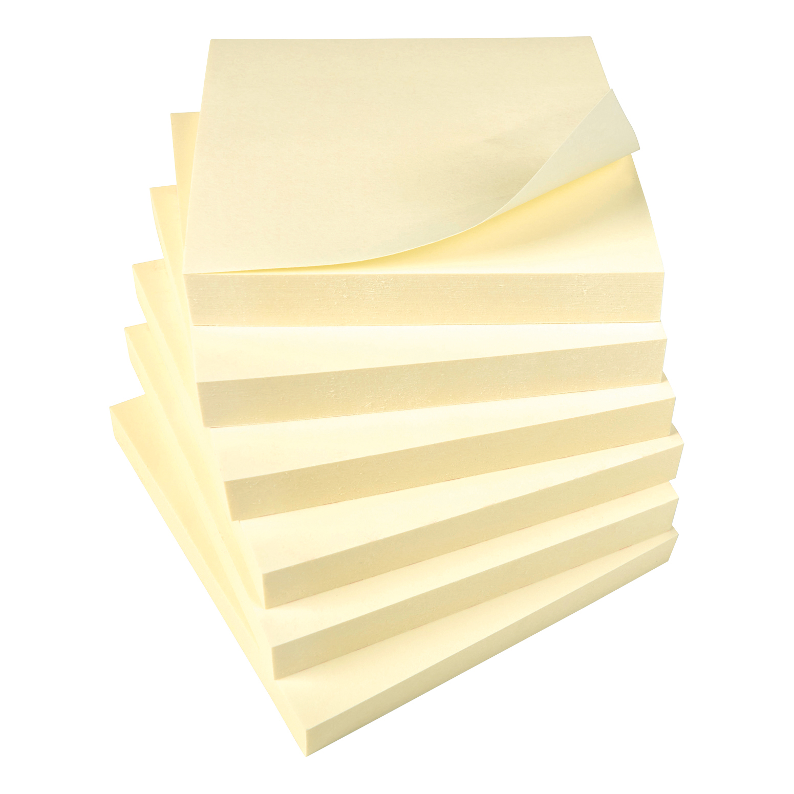 Yellow 5 Star Office Re-Move Notes Repositionable Pad of 100 Sheets 76x76mm Yellow [Pack 12]
