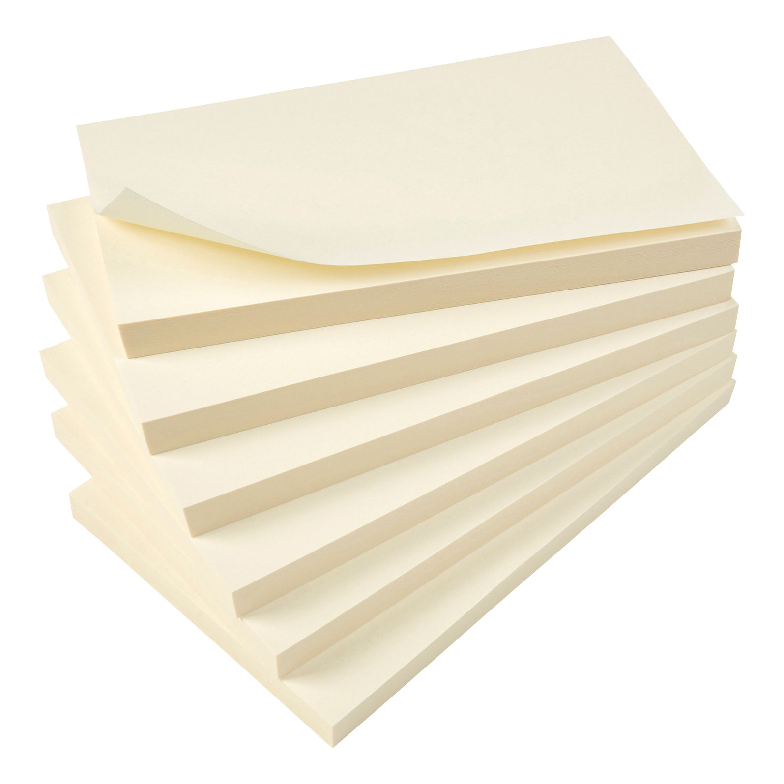 5 Star Value Repositionable Notes 75x127mm Yellow Pack 12