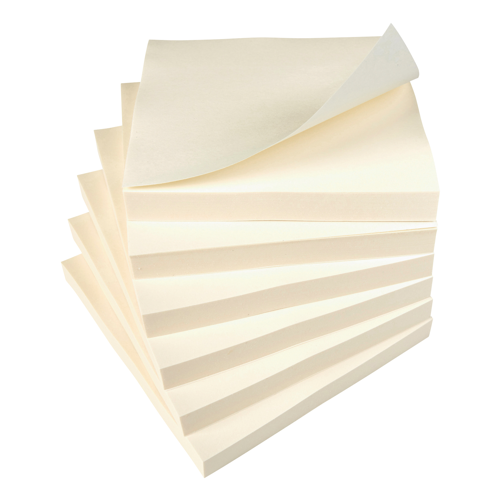 5 Star Value Repositionable Notes 75x75mm Yellow Pack 12
