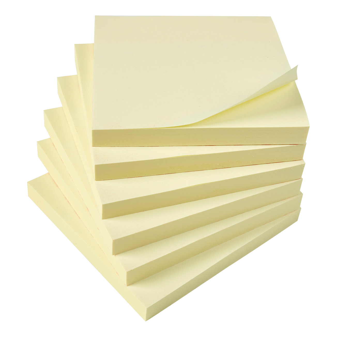 5 Star Office Extra Sticky Re-Move Notes Pad of 90 Sheets 76x76mm Yellow Pack 12