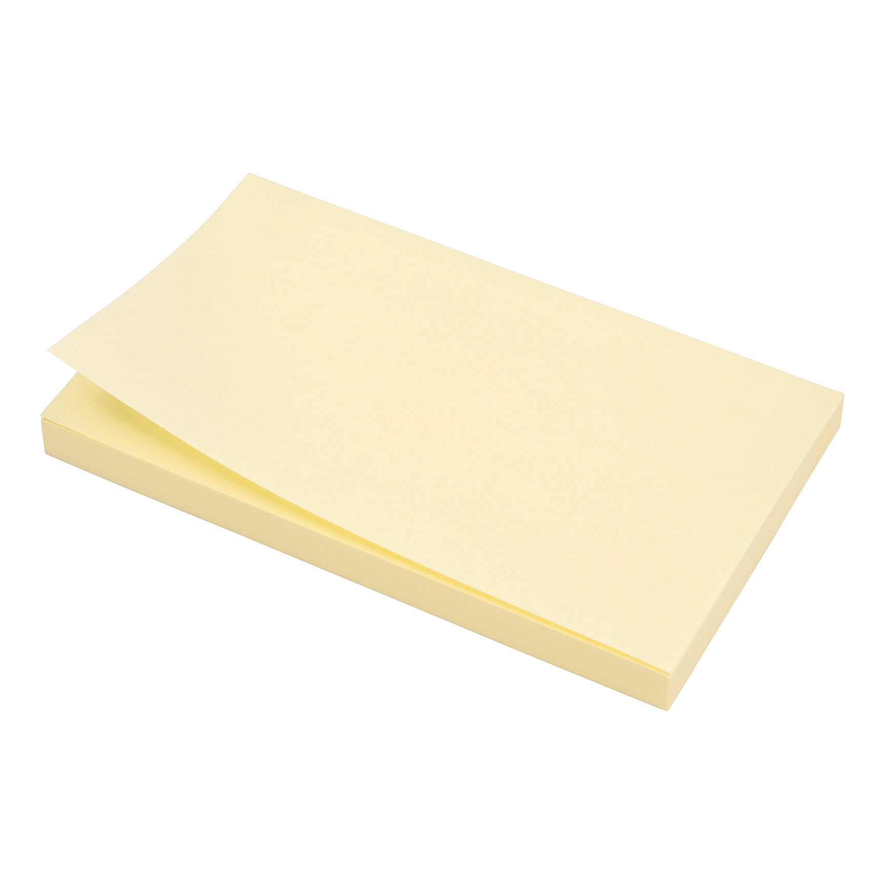 5 Star Office Extra Sticky Re-Move Notes Pad of 90 Sheets 76x127mm Yellow Pack 12