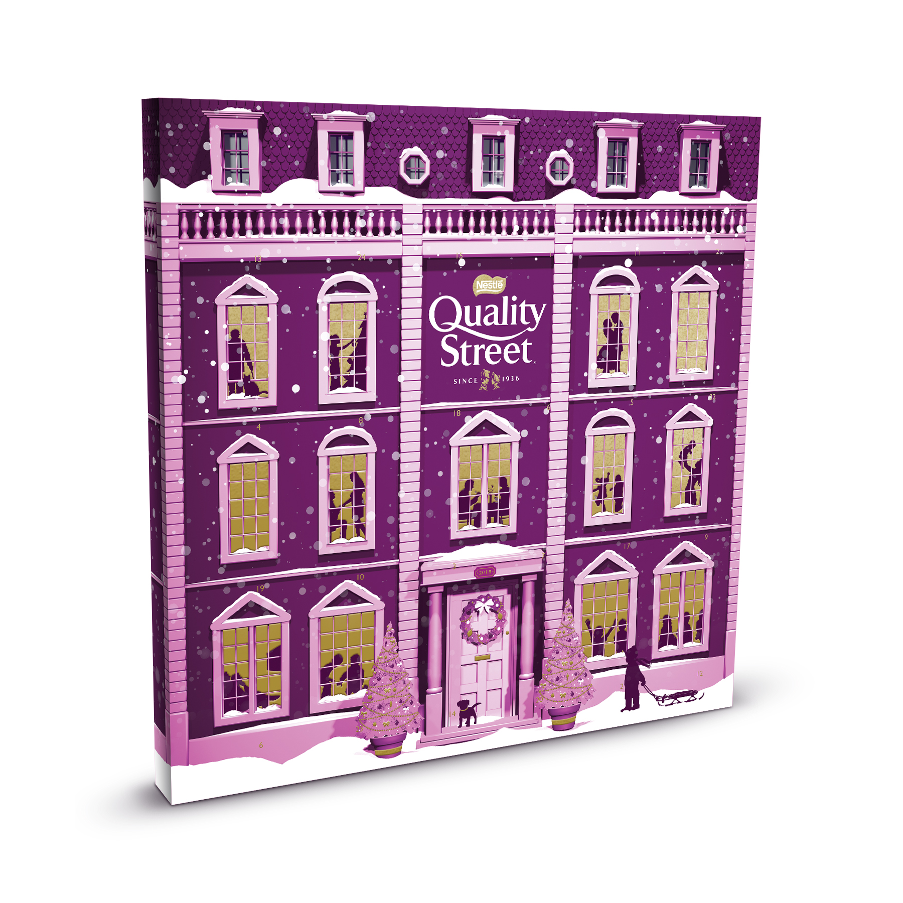 Nestle Quality Street Advent Calendar Ref 12373610