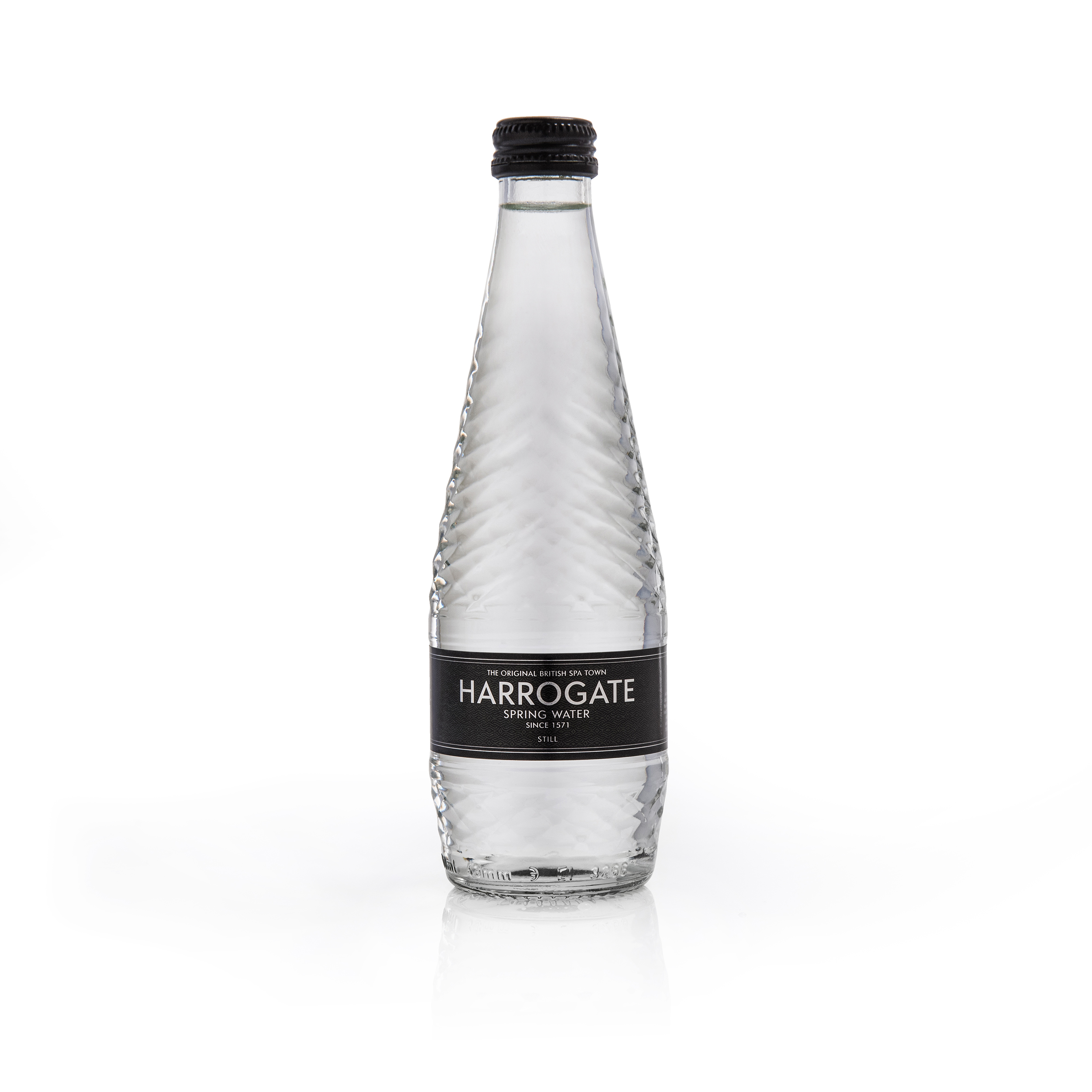 Harrogate Still Water Glass Bottle 330ml Ref G330241S Pack 24