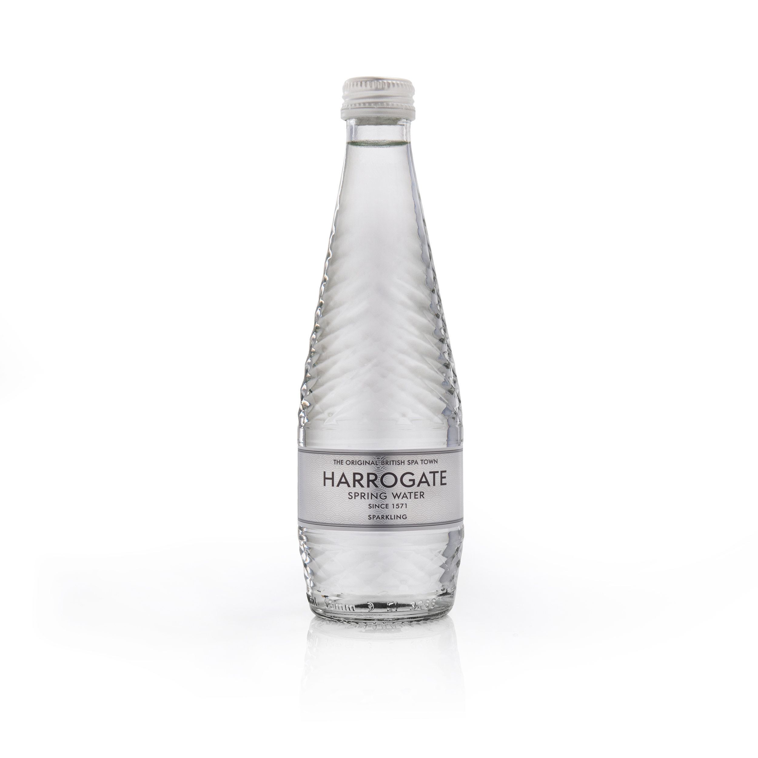 Cold Drinks Harrogate Sparkling Water Glass Bottle 330ml Ref G330242C Pack 24