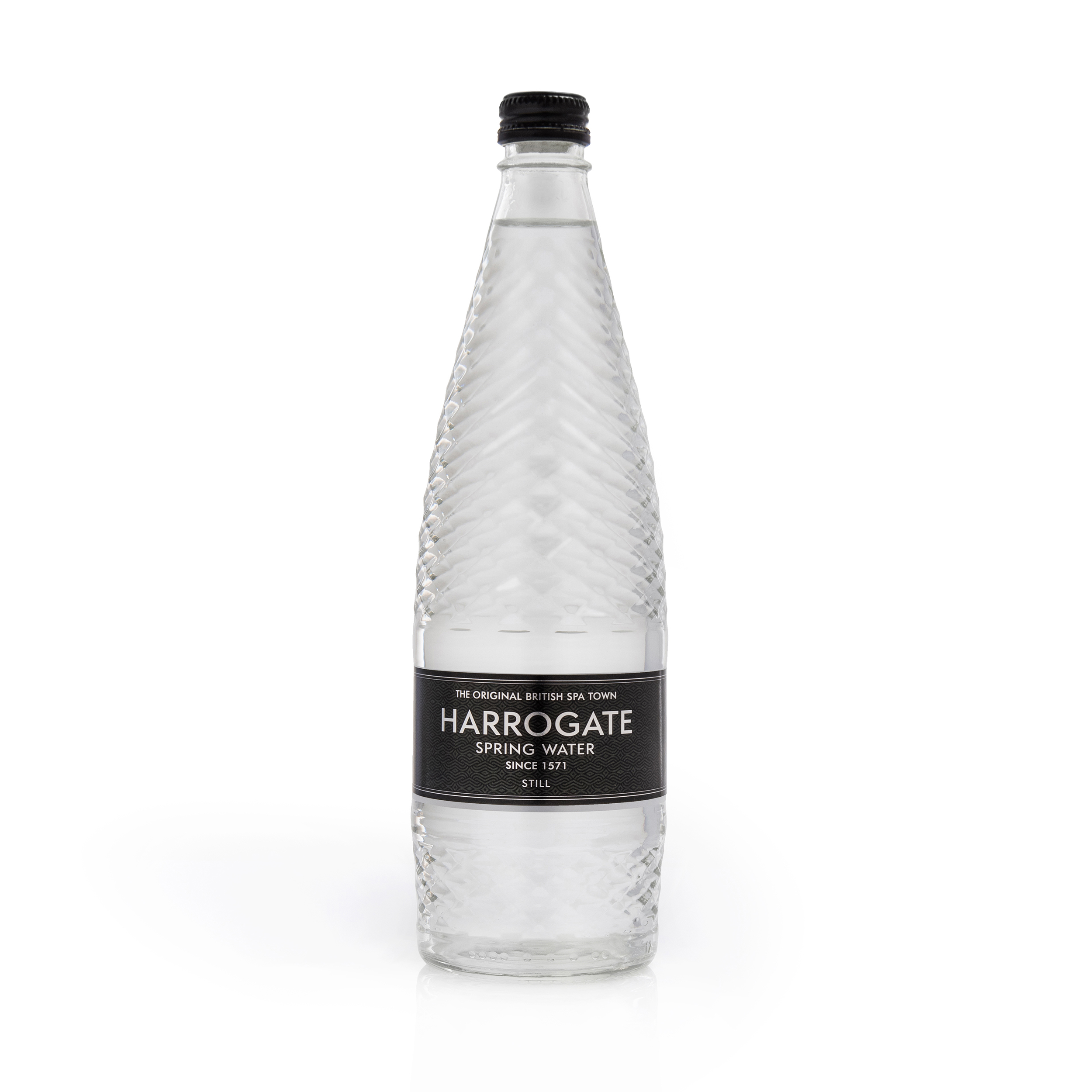 Cold Drinks Harrogate Still Water Glass Bottle 750ml Ref G750121S Pack 12