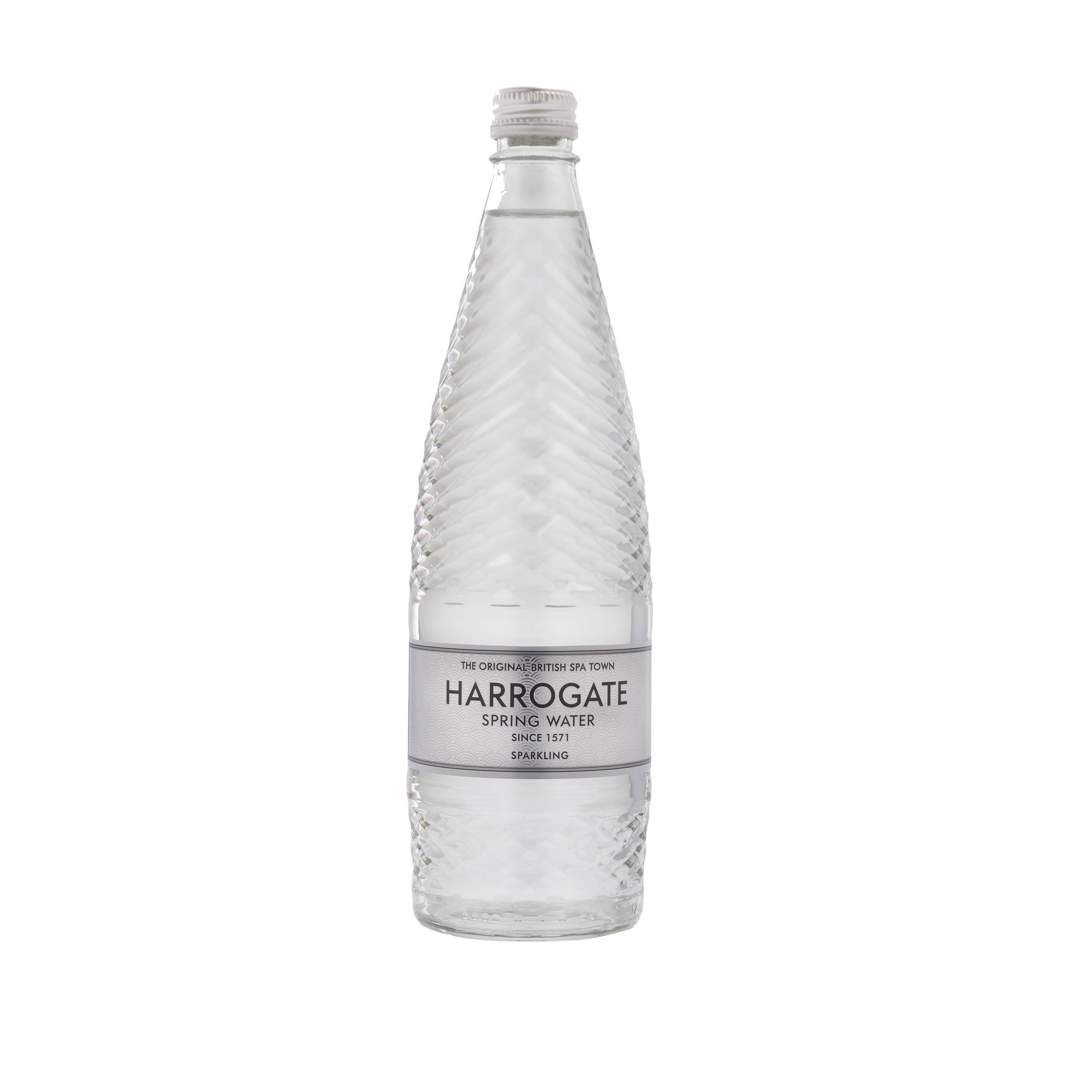 Cold Drinks Harrogate Sparkling Water Glass Bottle 750ml Ref P750122C Pack 12