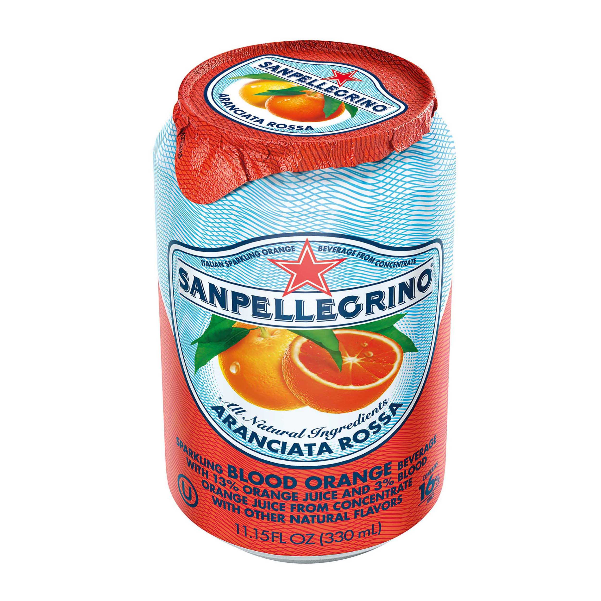 San Pellegrino Blood Orange 330ml Ref 12258537 [Pack 24]