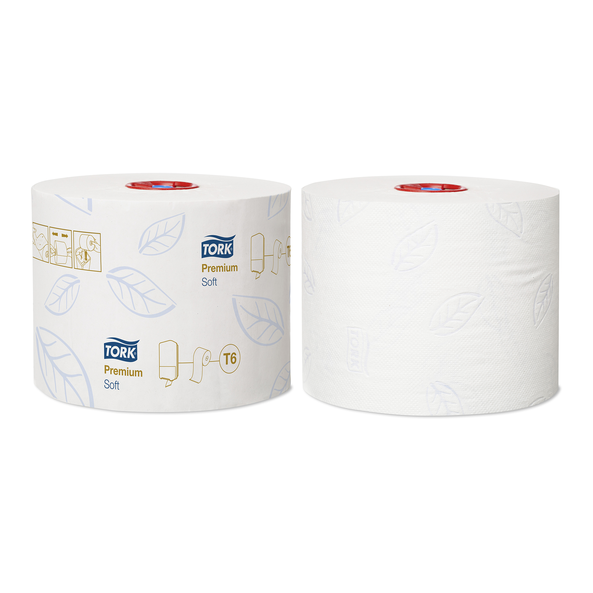 Tork Toilet Roll Soft 2-ply FSC Mid-size Roll 90m White Ref 127520 Pack 27