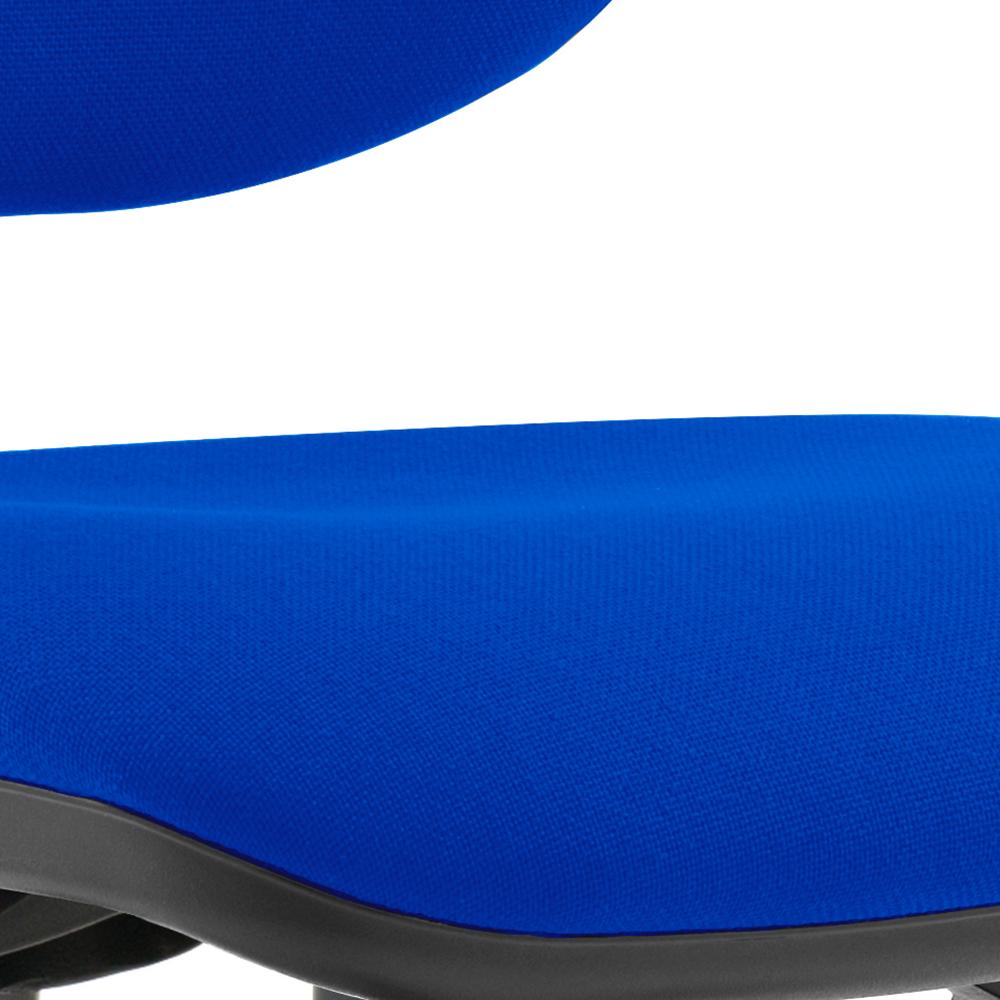 Trexus 3 Lever High Back Asynchronous Chair Blue 480x450x490-590mm Ref OP000032