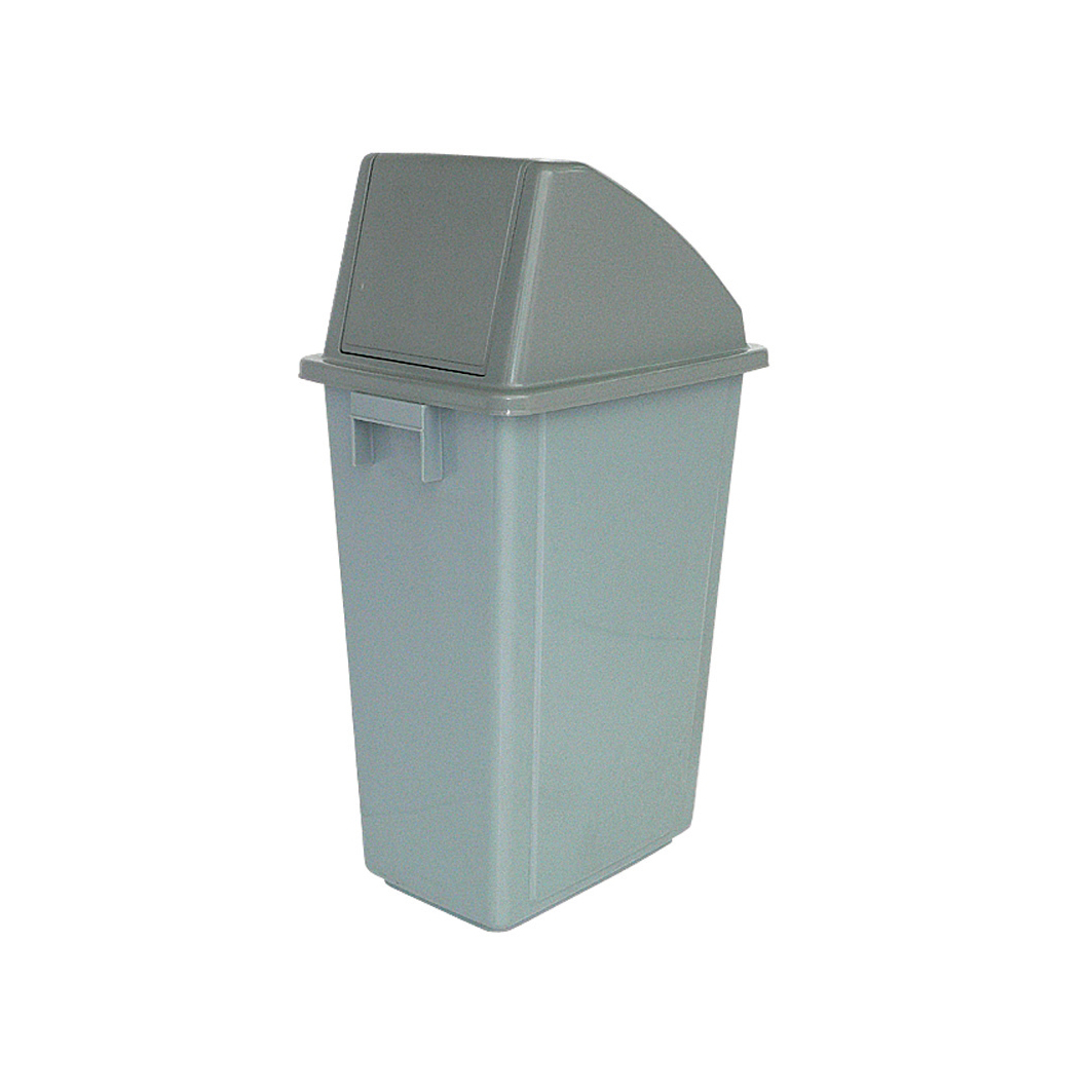 Recycling Bins Recycling Bin 60 Litre Capacity with Grey Standard Top 330x480x1190mm Grey