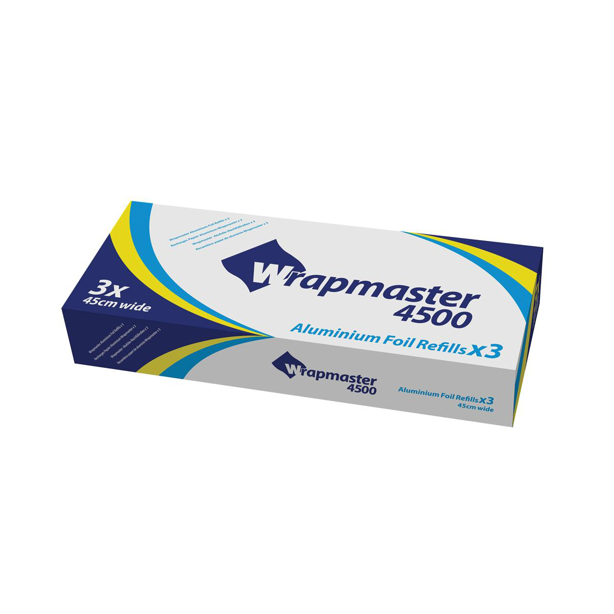 Wrapmaster Foil Refill 45cm 90m  Ref 505009 Pack 3